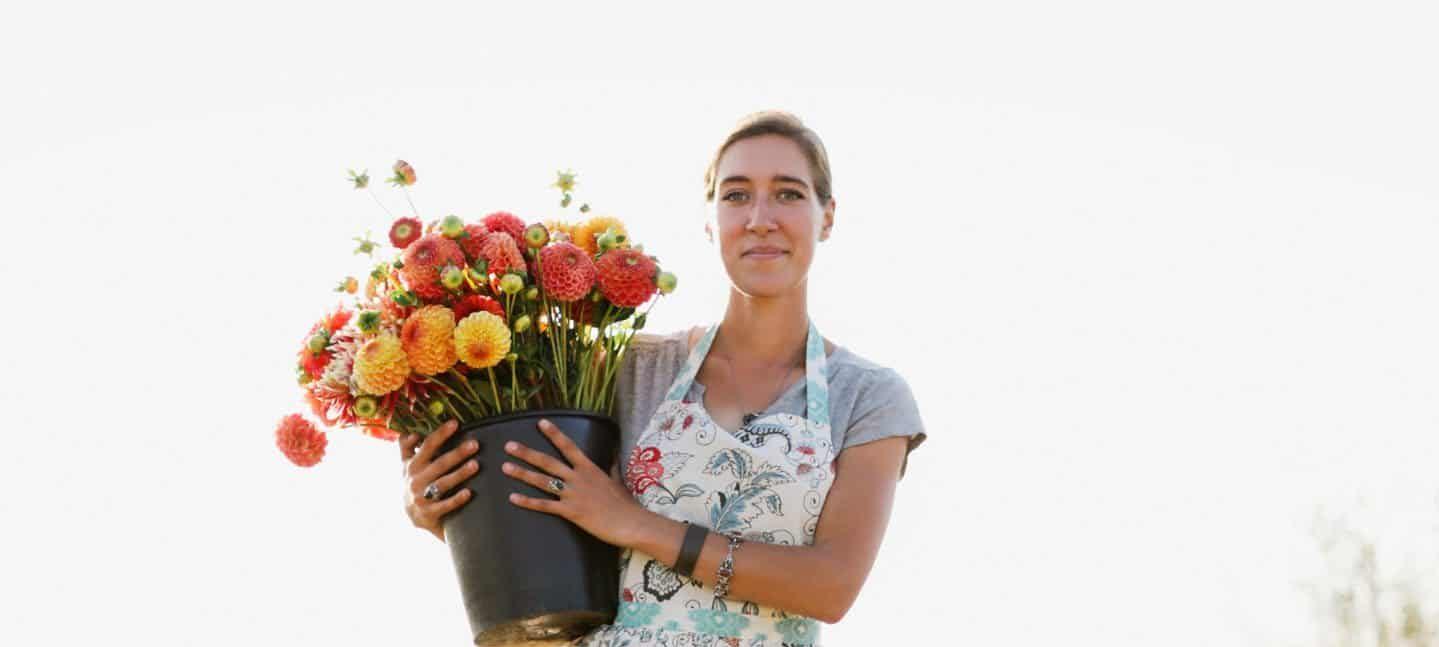 Virágfarmer portrék 1. Erin Benzakein